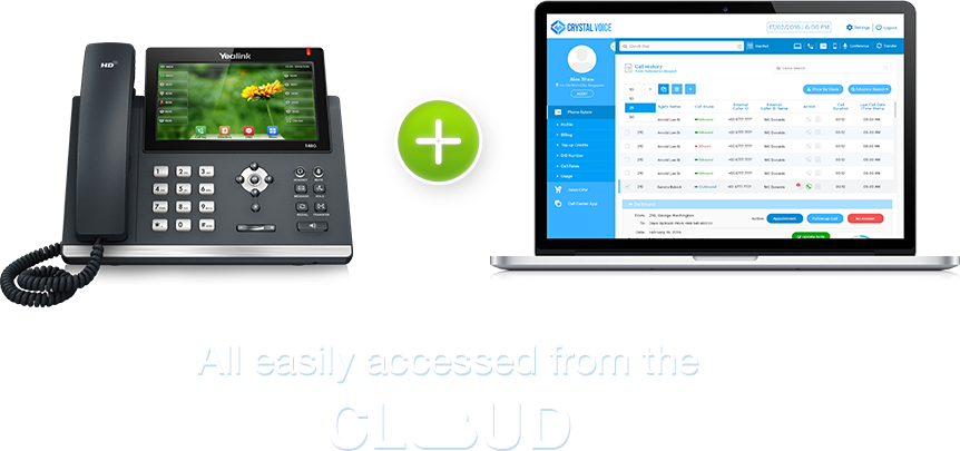 Crystal Voice - The VoIP Expert in Quality Cloud PBX Phone Systems